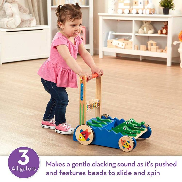Wooden Push Along Toy