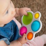 Pop It Fidget Toy For Babies & Toddlers | Dimpl By Fat Brain