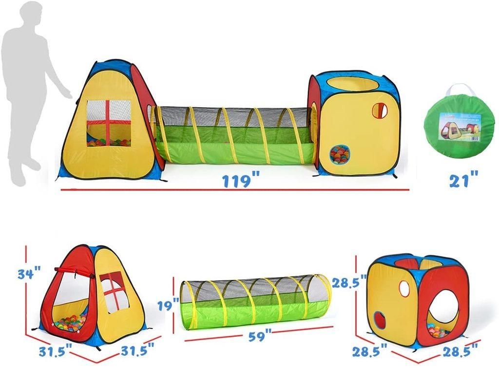 Pop Up Play Tent for Toddlers