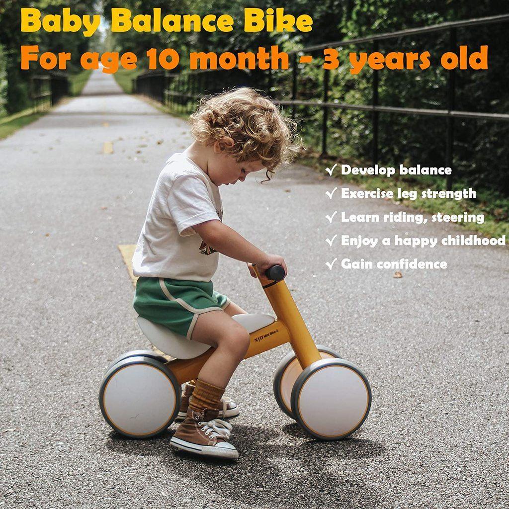 Baby Balance Bike for 1 Year Old