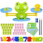 Counting Toys for Toddlers | Inpher Frog Balance Math Game